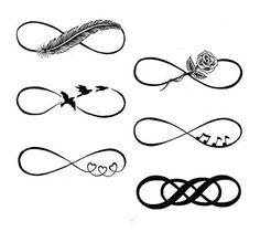 Unique Infinity Tattoos Designs
