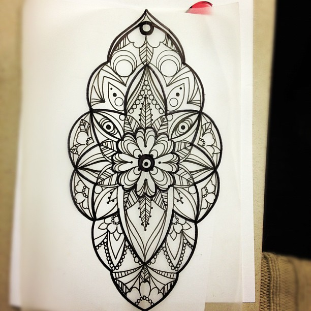 Gallery For gt Mandala Designs Tattoos
