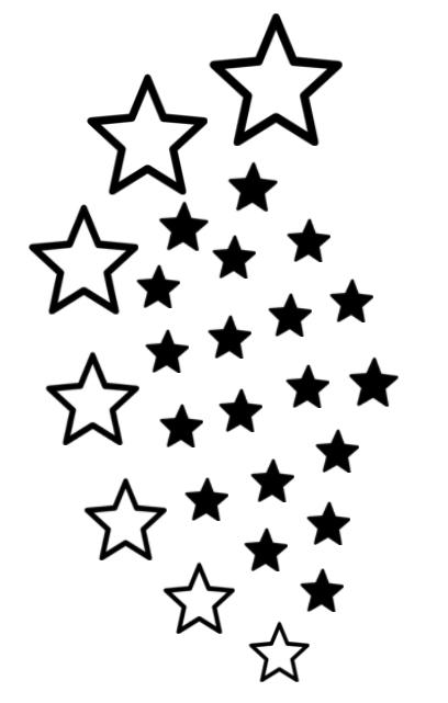awesome black star tattoos design rh tattoostime com