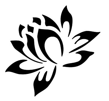 Cherry blossom crest clipart free clip art images - Lotus Tattoo Images Amp Designs
