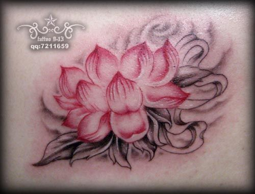Lotus tattoo images designs for Lotus flower and butterfly tattoo designs