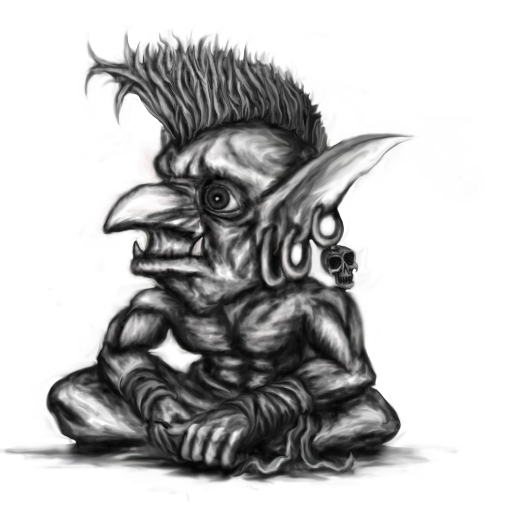Goblin Tattoo Images & Designs