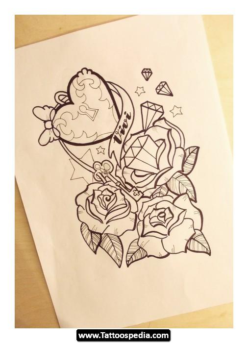 rose tattoo images designs. Black Bedroom Furniture Sets. Home Design Ideas