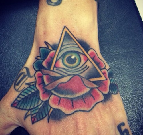 Eye In A Rose Tattoo: Rose Tattoo Images & Designs