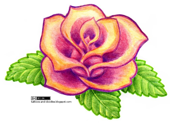 Simple Rose Tattoo Ideas Images amp Pictures Becuo