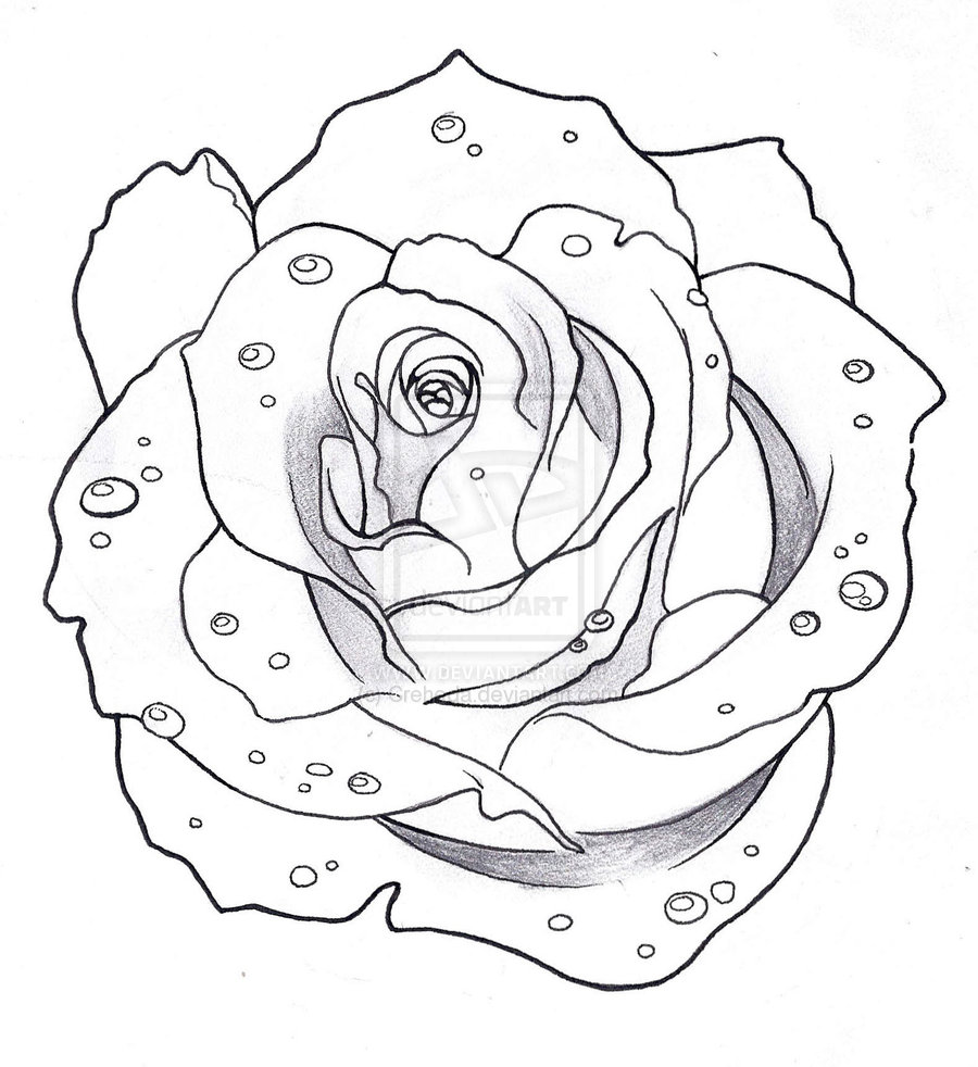 Rose Tattoo Images & Designs
