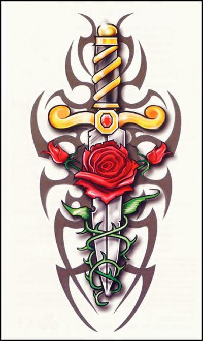 Rose Tattoo Images Amp Designs