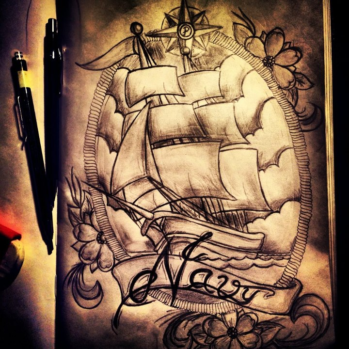 Tattoo Ideas Navy: Navy Tattoo Images & Designs