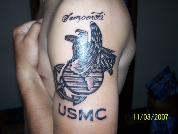 Navy tattoo images designs for Usmc sleeve tattoo ideas