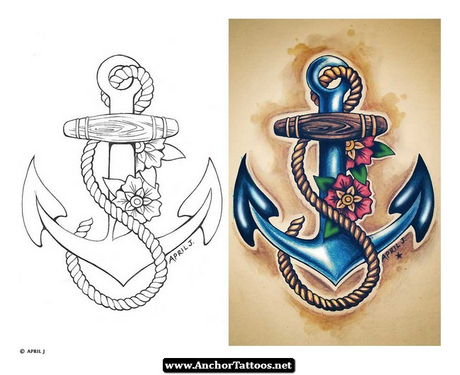Navy tattoo designs for women navy anchor tattoos design