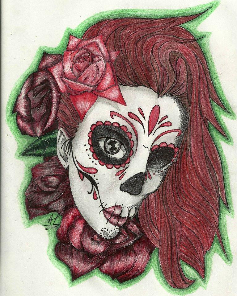 skull tattoos designs ideas page 34. Black Bedroom Furniture Sets. Home Design Ideas
