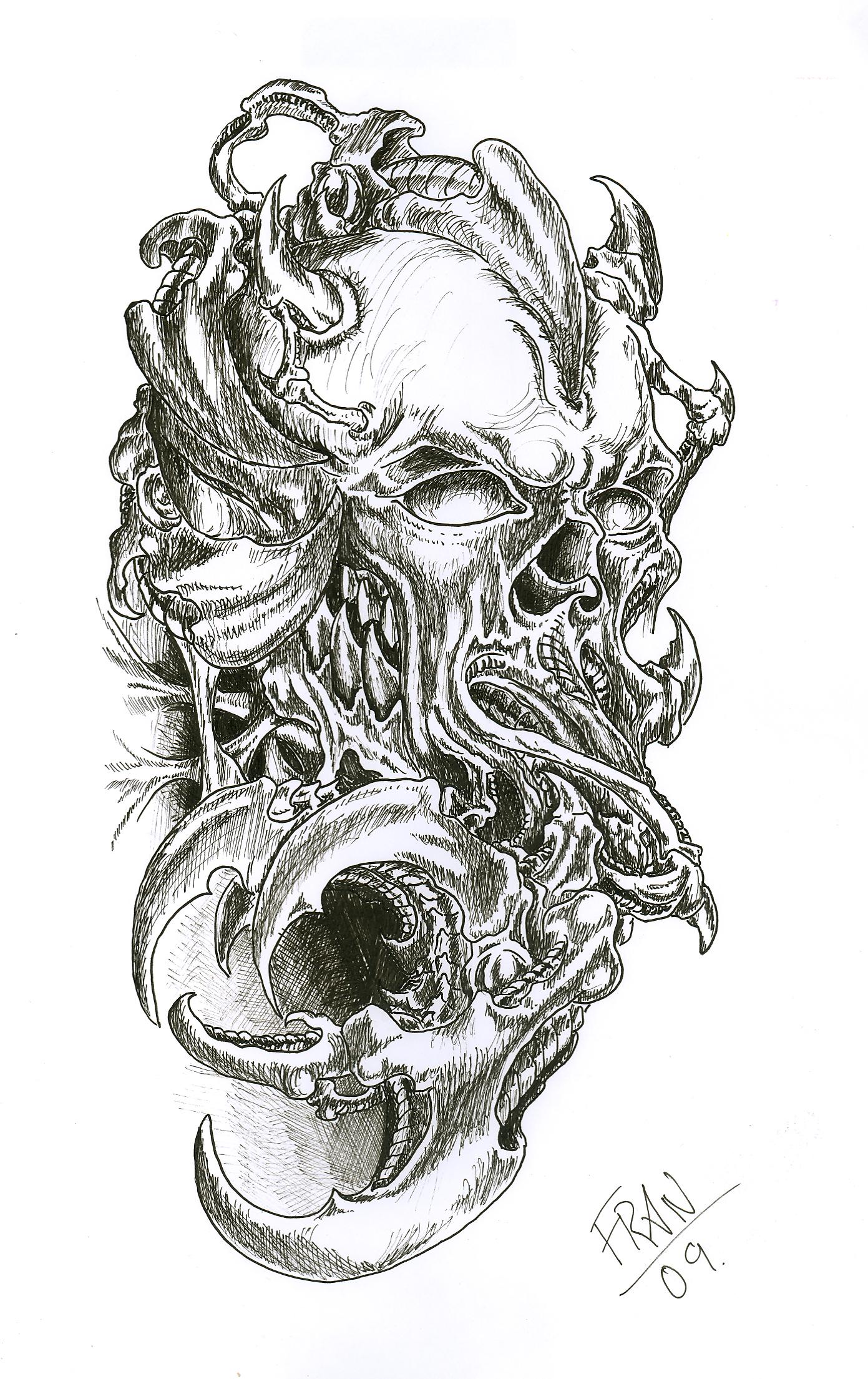Skull Tattoos Designs Amp Ideas Page 32