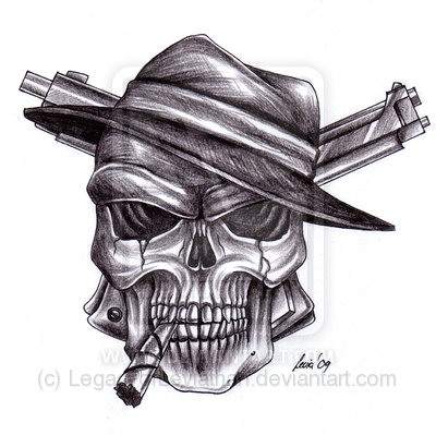 Skull And Smoke Tattoo Drawings Images amp Designs