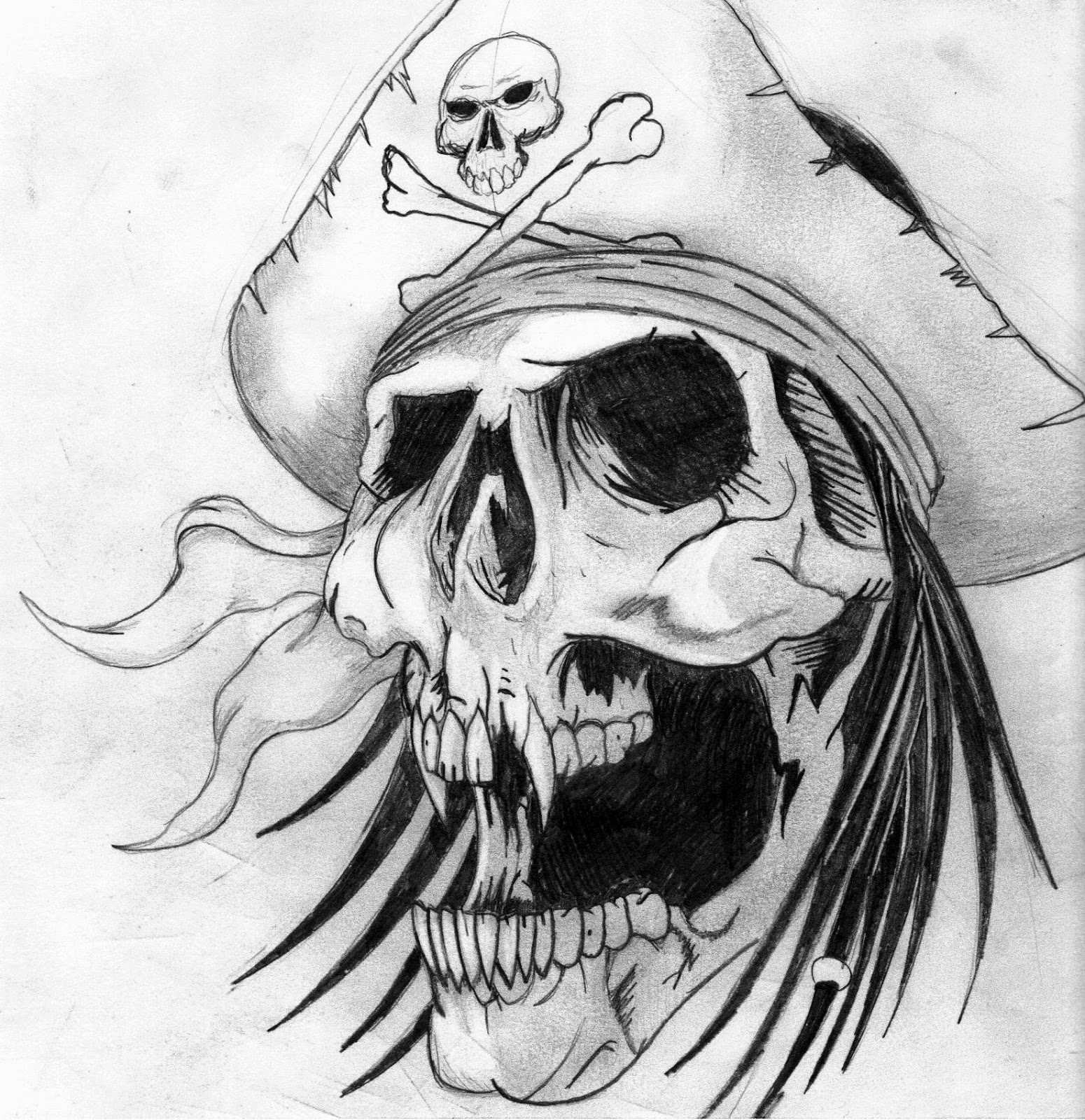 Skull Tattoo Images amp Designs