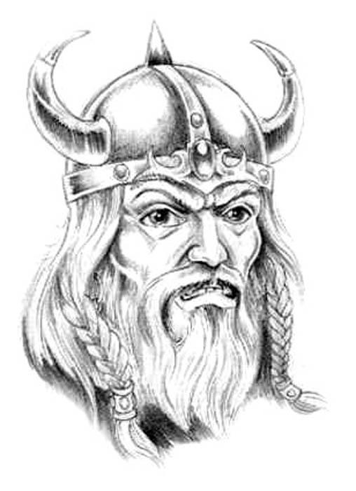Viking tattoo images designs - Dessin de viking ...