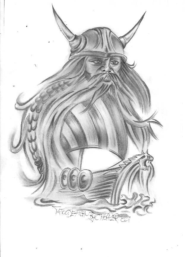 Viking Tattoo Images amp Designs
