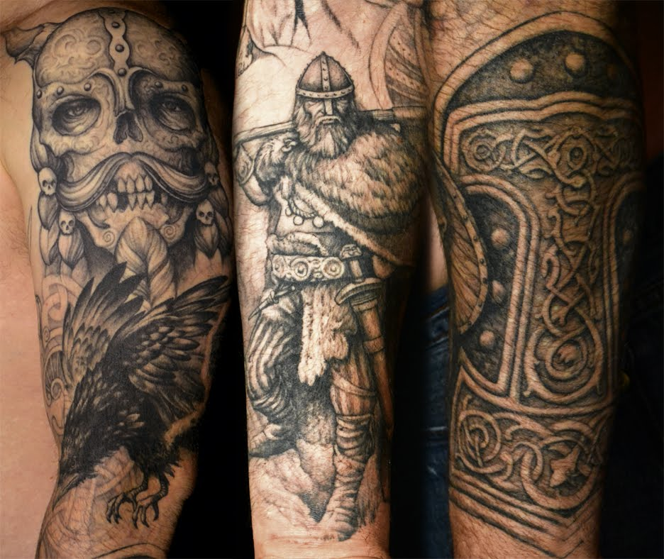Viking Tattoo Images Designs