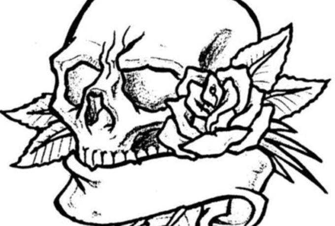 Skull Designs Drawing And Skull Tattoo Design