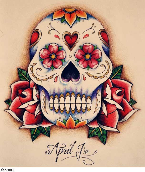 skull tattoos designs ideas page 28. Black Bedroom Furniture Sets. Home Design Ideas