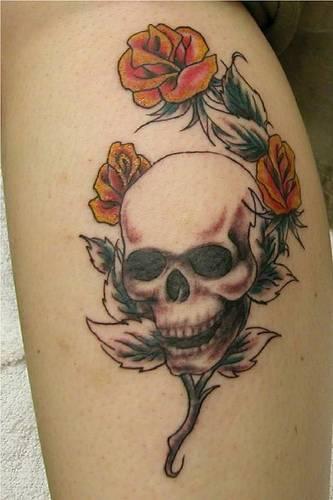 skull tattoo images designs. Black Bedroom Furniture Sets. Home Design Ideas