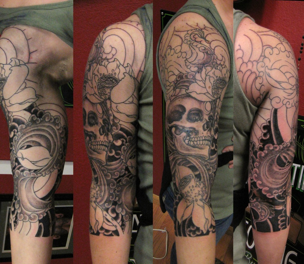 Skull Tattoo Images & Designs