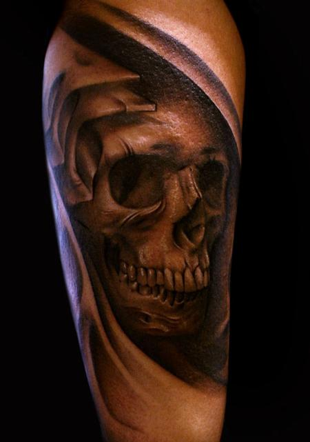 Skull tattoos page 21 for Tattoos on right arm