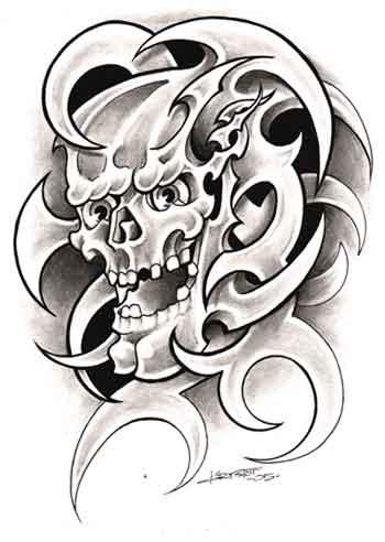 Skull Tattoos Page 36