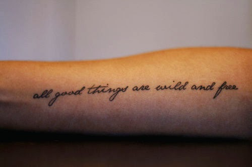 Quote Tattoos For Women On Arm