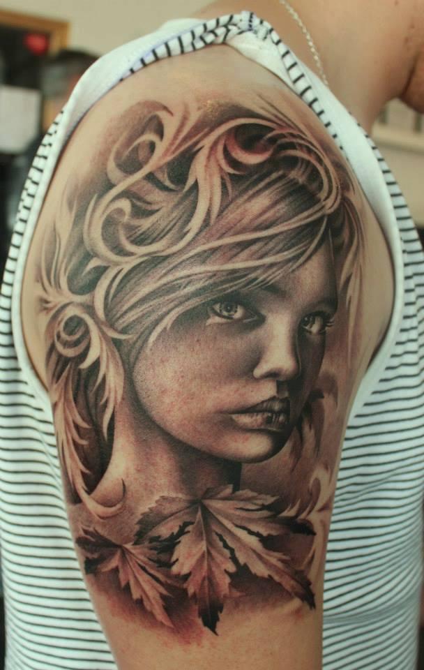 Portrait Tattoo Sleeve Ideas: 15 Best Half Sleeve Tattoo Designs For Men And Women