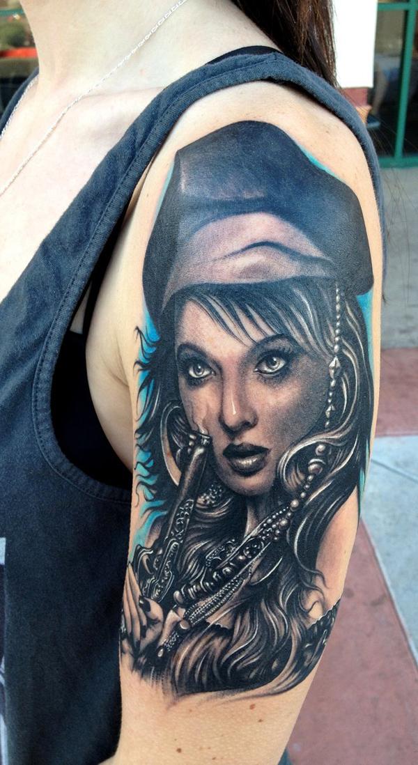 Portrait Sleeve Tattoo Designs: Portrait Tattoo Images & Designs