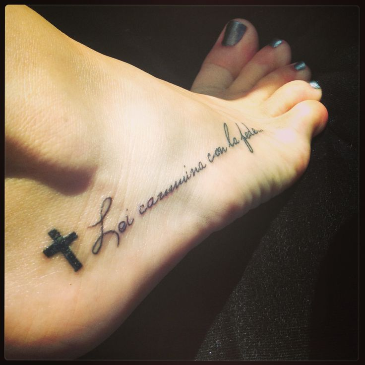 Foot Tattoo Quotes Tumblr