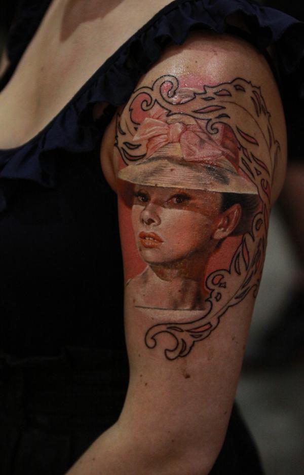 Portrait Tattoo Sleeve Ideas