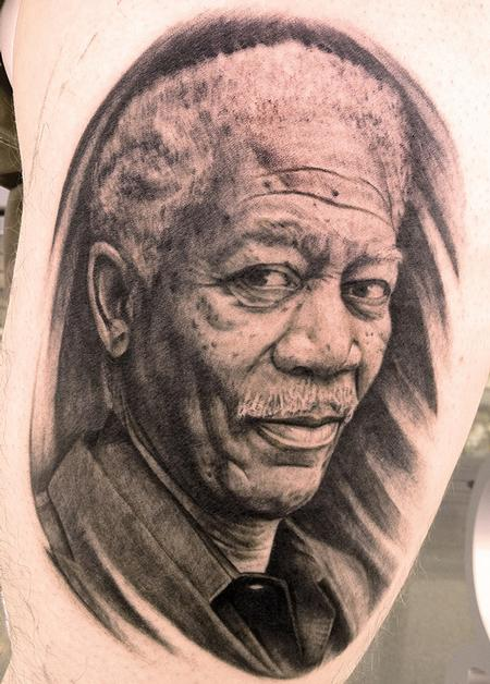 Portrait tattoo images designs for Tattoos on old skin