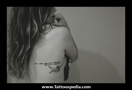 quote tattoo on girl hands