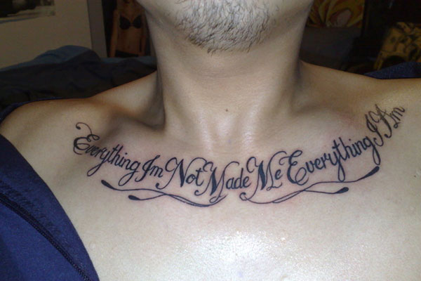 Quote Tattoos On Chest For Girls ... com img src...