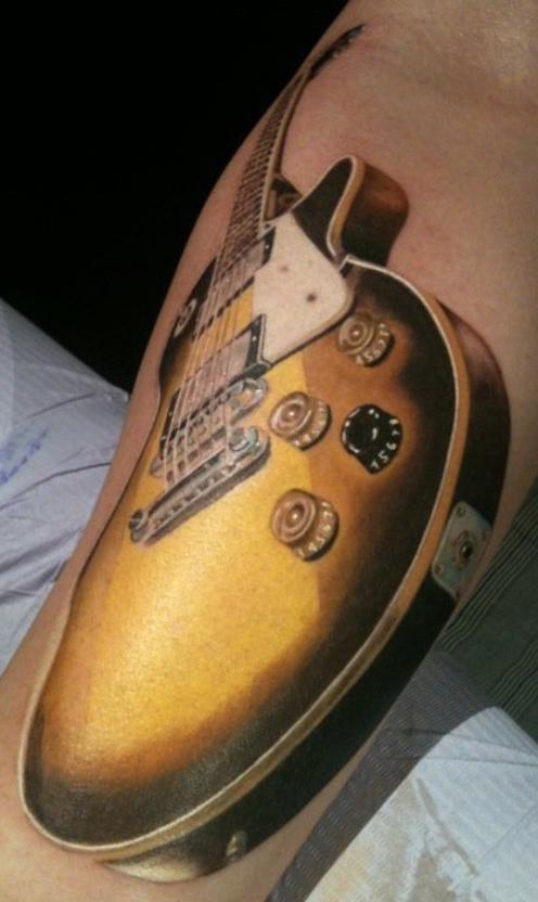 Feminine celtic cross tattoos feminine celtic tattoos feminine - Guitar Tattoo Images Amp Designs