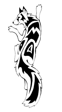 Fox Tattoo Design Black Ink Fox Tattoo Design