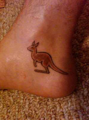 Kangaroo Tattoo Images Amp Designs