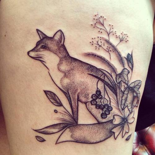 Fox Tattoo Images & Designs