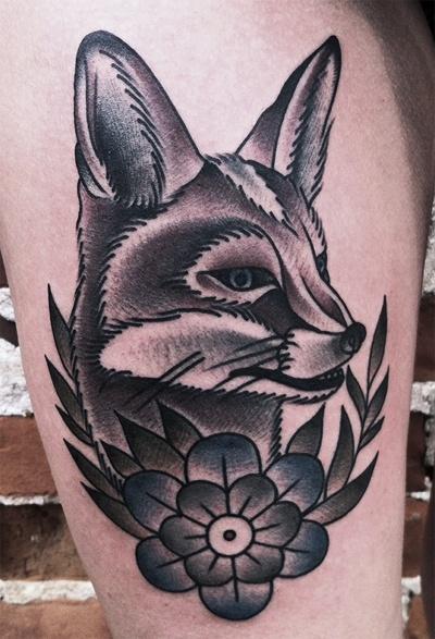 Fox Tattoo Images & Designs