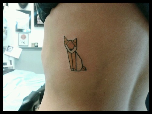 Fox Tattoo Small: Fox Tattoos : Page 30