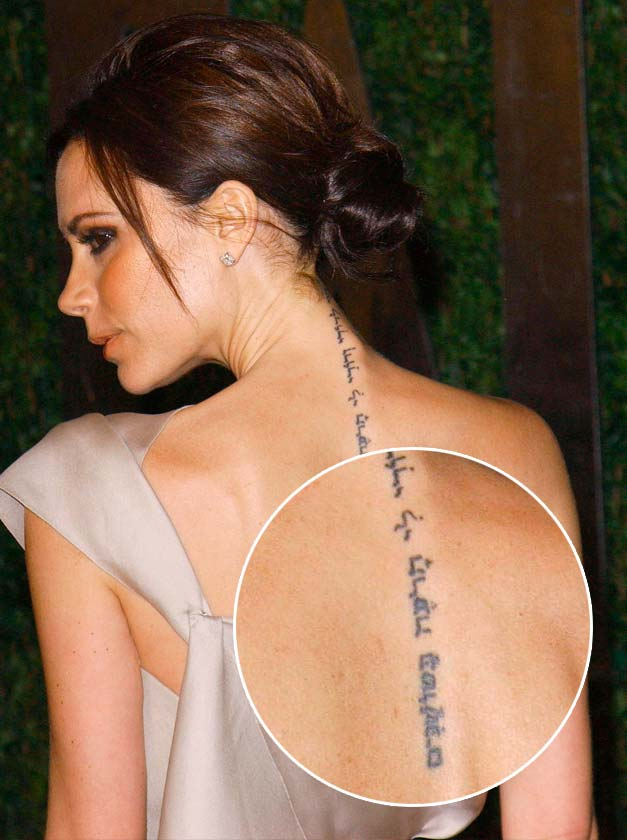Spine tattoo images designs for Tattoos of women