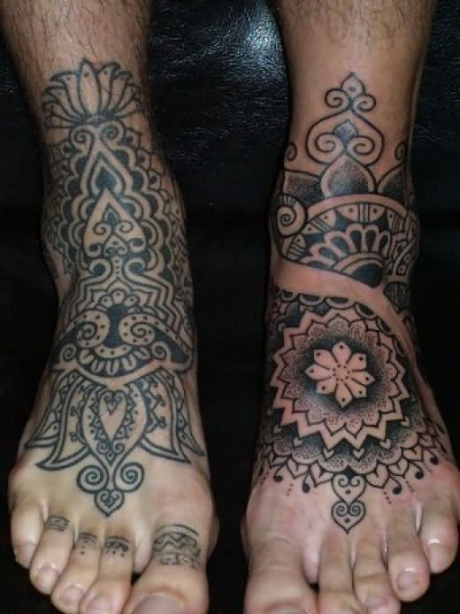 View More  Footprints Tattoos