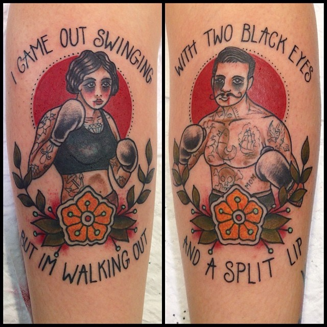 Tattoo Quotes Punk: Punk Tattoo Images & Designs