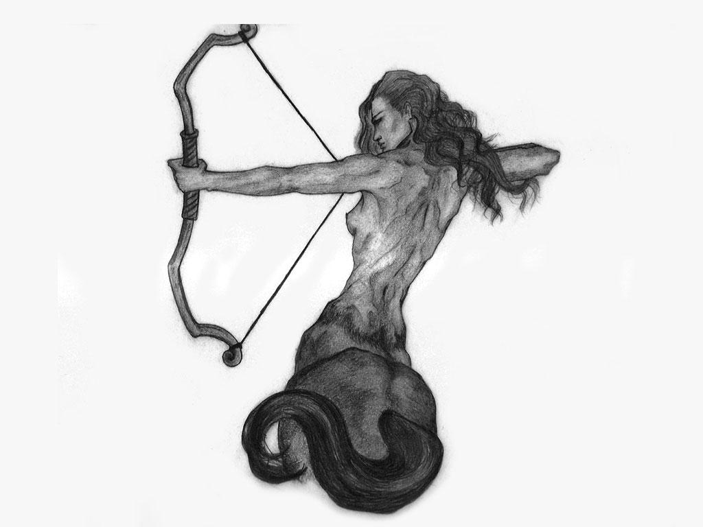 Sagittarius Tattoo Images Designs