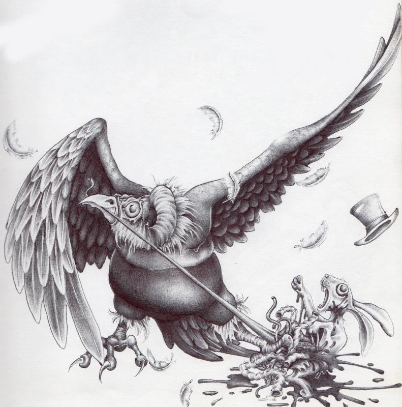 vulture tattoo
