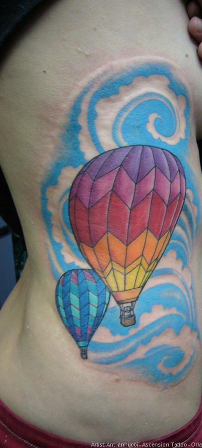 Balloon Tattoo Images & Designs