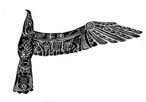 Dogstar Albatross Tattoo Design