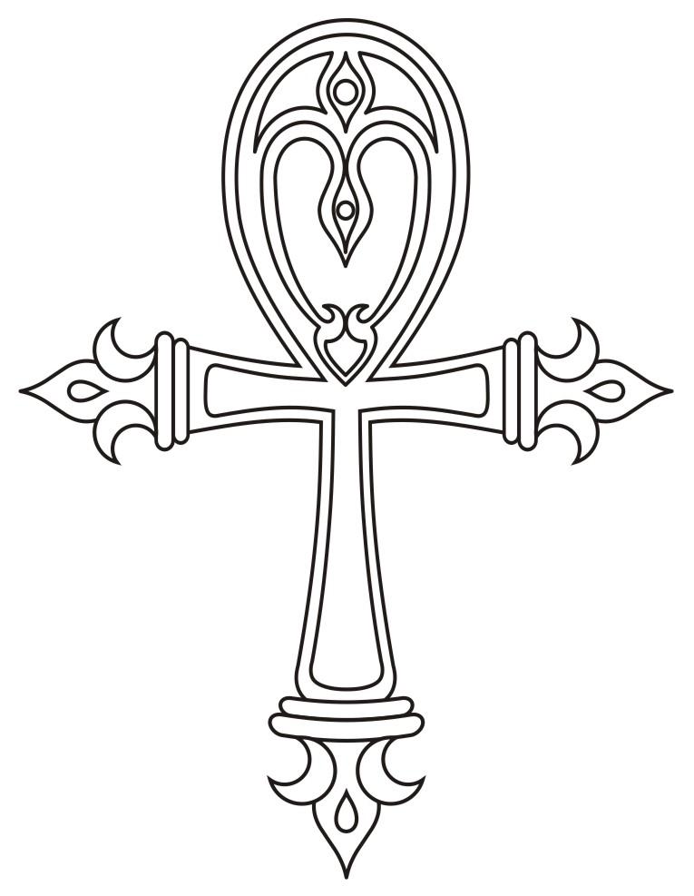 Ankh Cross Tattoo Designs