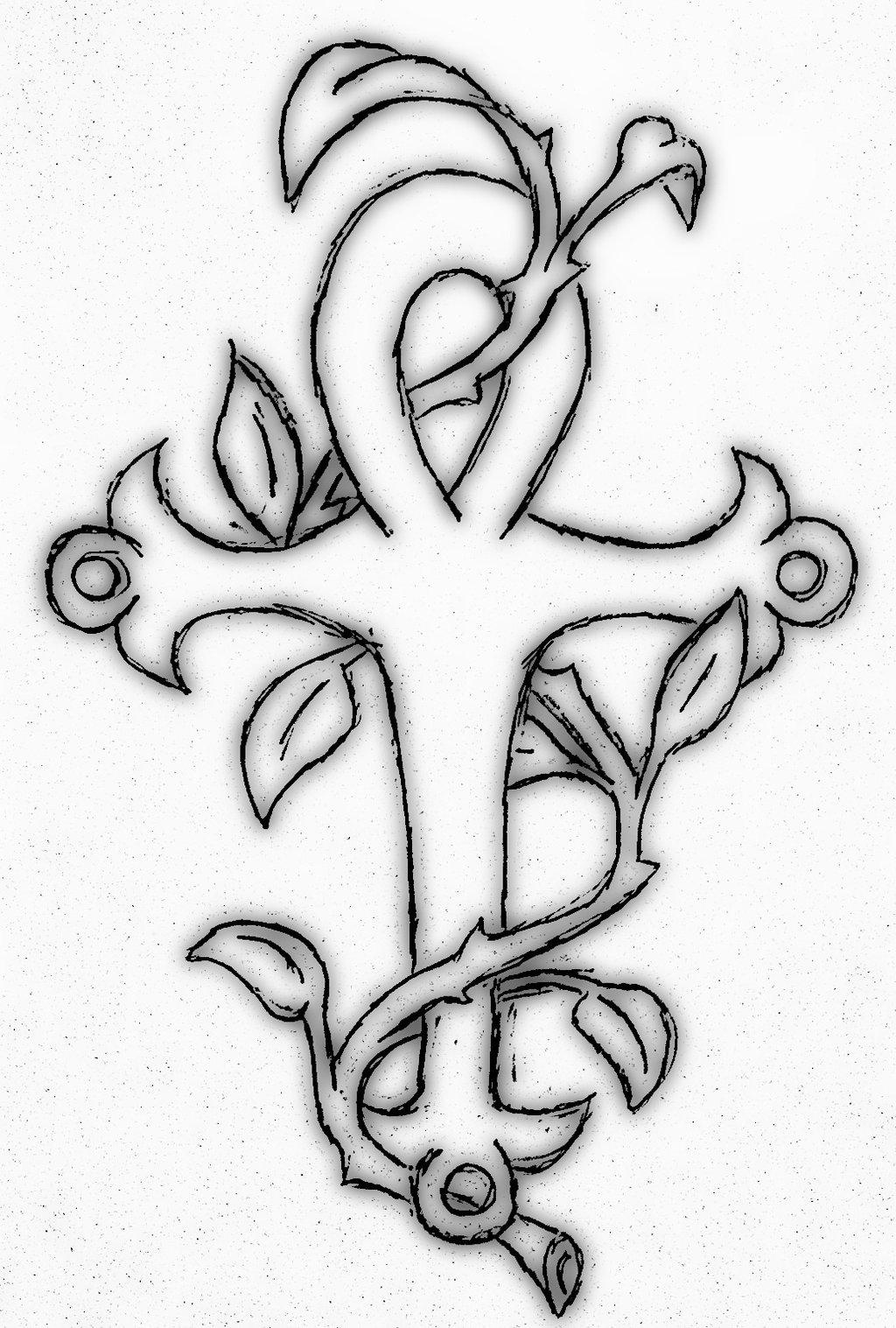 ankh tattoo images designs. Black Bedroom Furniture Sets. Home Design Ideas